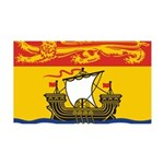 New Brunswick Flag 38.5 x 24.5 Wall Peel