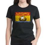 New Brunswick Flag Women's Dark T-Shirt