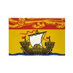 New Brunswick Flag Rectangle Magnet (100 pack)