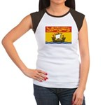 New Brunswick Flag Women's Cap Sleeve T-Shirt