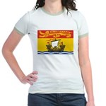 New Brunswick Flag Jr. Ringer T-Shirt