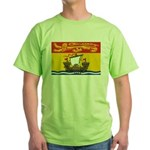 New Brunswick Flag Green T-Shirt