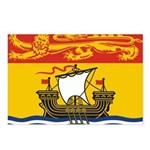 New Brunswick Flag Postcards (Package of 8)