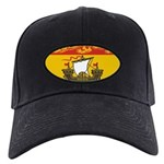New Brunswick Flag Black Cap