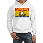 New Brunswick Flag Hooded Sweatshirt