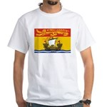 New Brunswick Flag White T-Shirt
