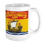 New Brunswick Flag Large Mug