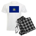 New York Flag Men's Light Pajamas