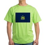 New York Flag Green T-Shirt