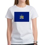 New York Flag Women's T-Shirt