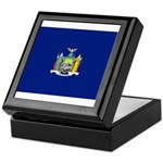 New York Flag Keepsake Box