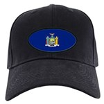 New York Flag Black Cap