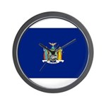 New York Flag Wall Clock
