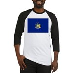 New York Flag Baseball Jersey