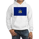 New York Flag Hooded Sweatshirt