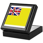 Niue Flag Keepsake Box