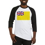 Niue Flag Baseball Jersey