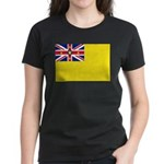 Niue Flag Women's Dark T-Shirt
