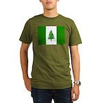 Norfolk Island Flag Organic Men's T-Shirt (dark)