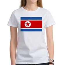 North Korea Flag Tee