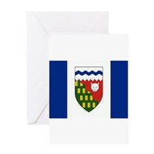 Northwest Territories Flag Greeting Card