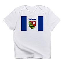 Northwest Territories Flag Infant T-Shirt