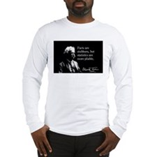 Mark Twain, Facts, Statistics, Long Sleeve T-Shirt