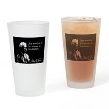 Mark Twain, Sincere Emotion, Drinking Glass