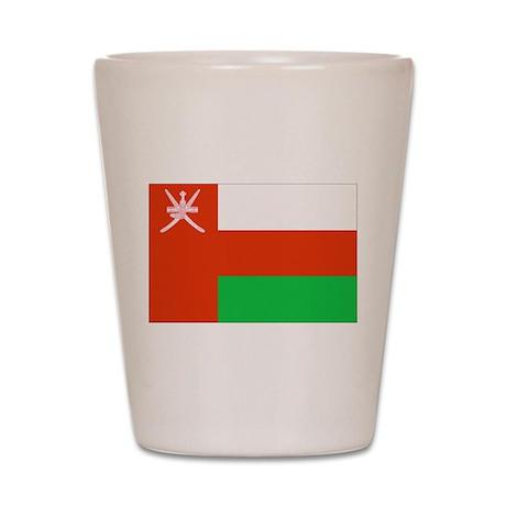 Oman Flag Shot Glass