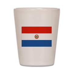 Paraguay Flag Shot Glass