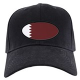 Qatar Flag Baseball Hat