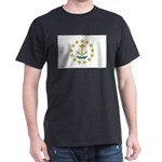 Rhode Island Flag Dark T-Shirt