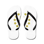 Rhode Island Flag Flip Flops