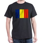 Romania Flag Dark T-Shirt