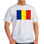 Romania Flag Light T-Shirt