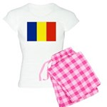 Romania Flag Women's Light Pajamas