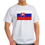 Slovakia Flag Light T-Shirt