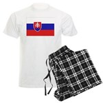 Slovakia Flag Men's Light Pajamas