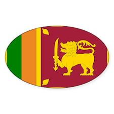 Sri Lanka Flag Decal