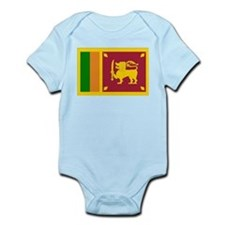 Sri Lanka Flag Infant Bodysuit