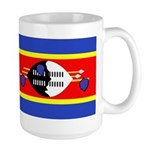 Swaziland Flag Large Mug