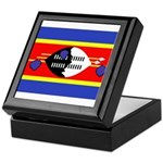 Swaziland Flag Keepsake Box
