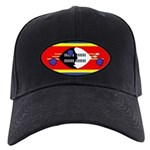 Swaziland Flag Black Cap