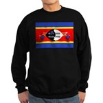 Swaziland Flag Sweatshirt (dark)