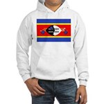 Swaziland Flag Hooded Sweatshirt