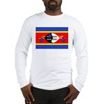 Swaziland Flag Long Sleeve T-Shirt