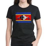 Swaziland Flag Women's Dark T-Shirt