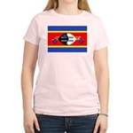 Swaziland Flag Women's Light T-Shirt