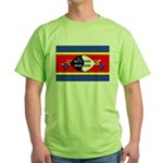 Swaziland Flag Green T-Shirt