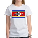 Swaziland Flag Women's T-Shirt
